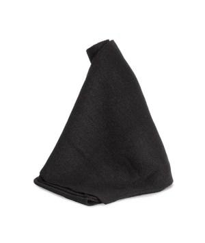 Echarpe en tricot - 177x25cm - Noir