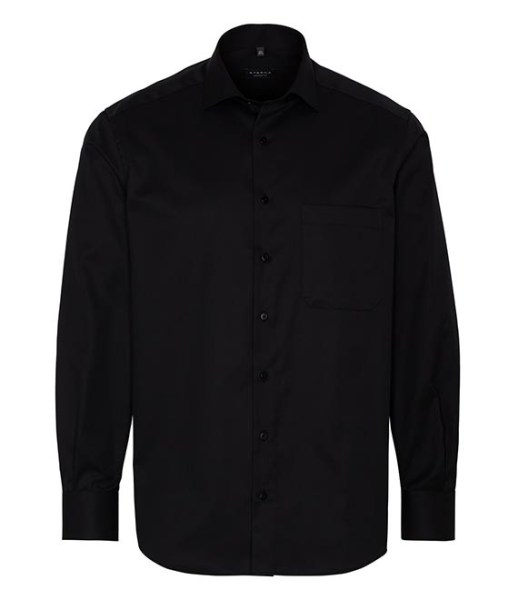 Chemises Eterna - Noir - Comfort Fit