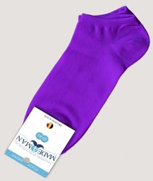 Socquettes microfibre - Purple