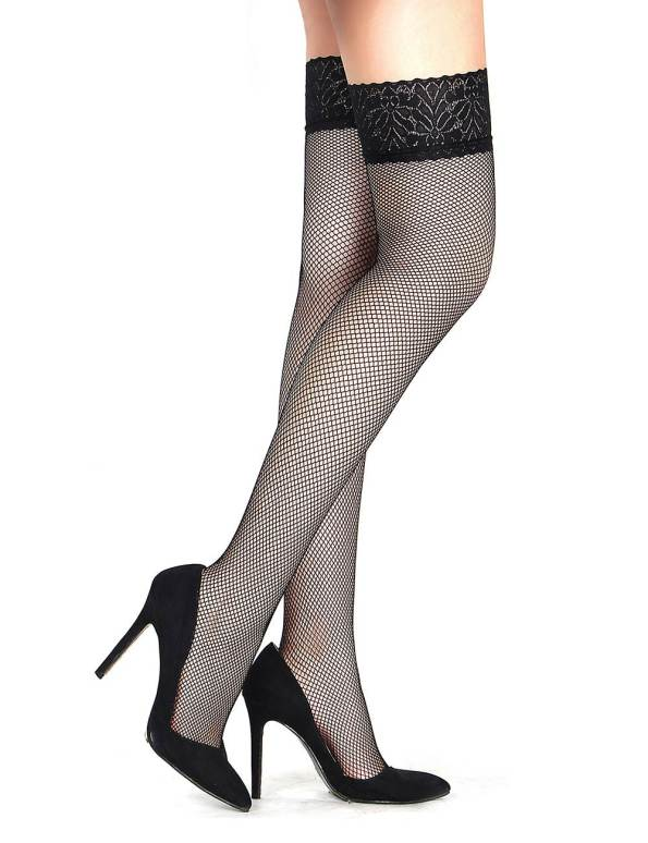 Thigh High Net Stockings2