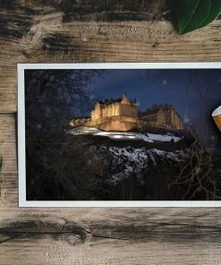 Edinburgh Castle in the Snow | Manel Quiros Photography