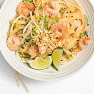 Phat Thai crevettes