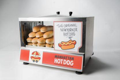 Découvrez notre Machine Hot Dog Vapeur Visio Cart ! Un système 2 en 1, une forte visibilité produits et une grande capacité de cuisson !