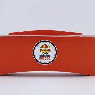 Découvrez notre Emballage Premium Manhattan Hot Dog ! Ce nouvel emballage conçu spécifiquement pour le maintien au chaud de vos HotDogs !
