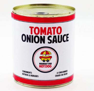 Découvrez la véritable recete du Tomato Onions Sauce ! Une préparation à base d'oignons en lamelles et d'une sauce tomate légèrement relevé !