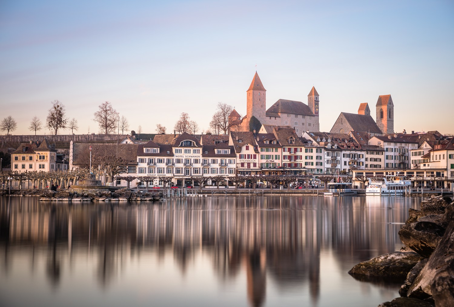marcweiler.ch Seepromenade und Schloss Rapperswil-Jona