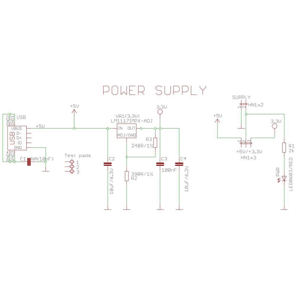 medium resolution of  5v 3 3v breadboard power supply from usb