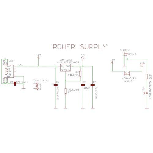 small resolution of  5v 3 3v breadboard power supply from usb