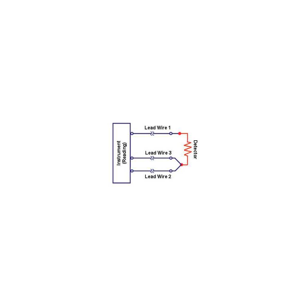 medium resolution of  sonde temp rature pt100 3 fils 1m