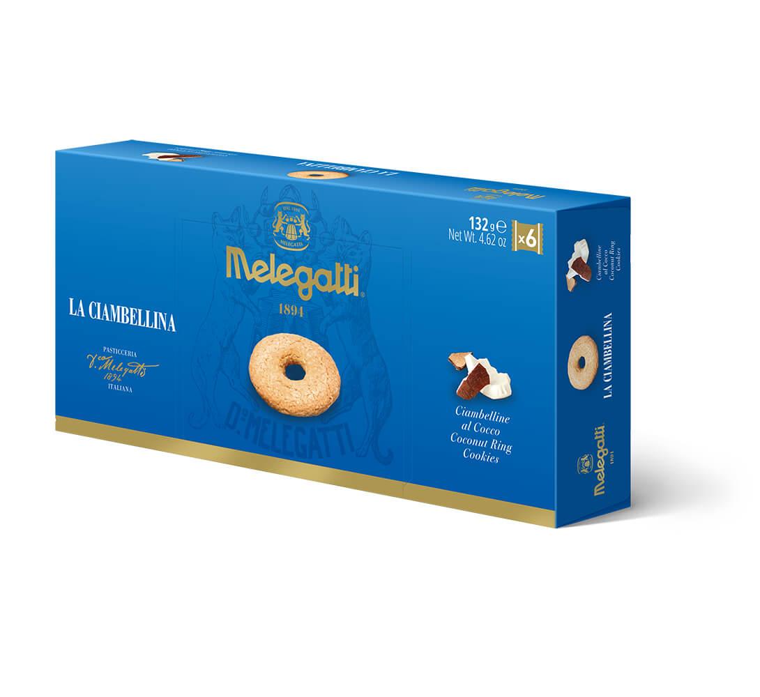 Biscotti La Ciambellina Al Cocco Melegatti PF-BIS015