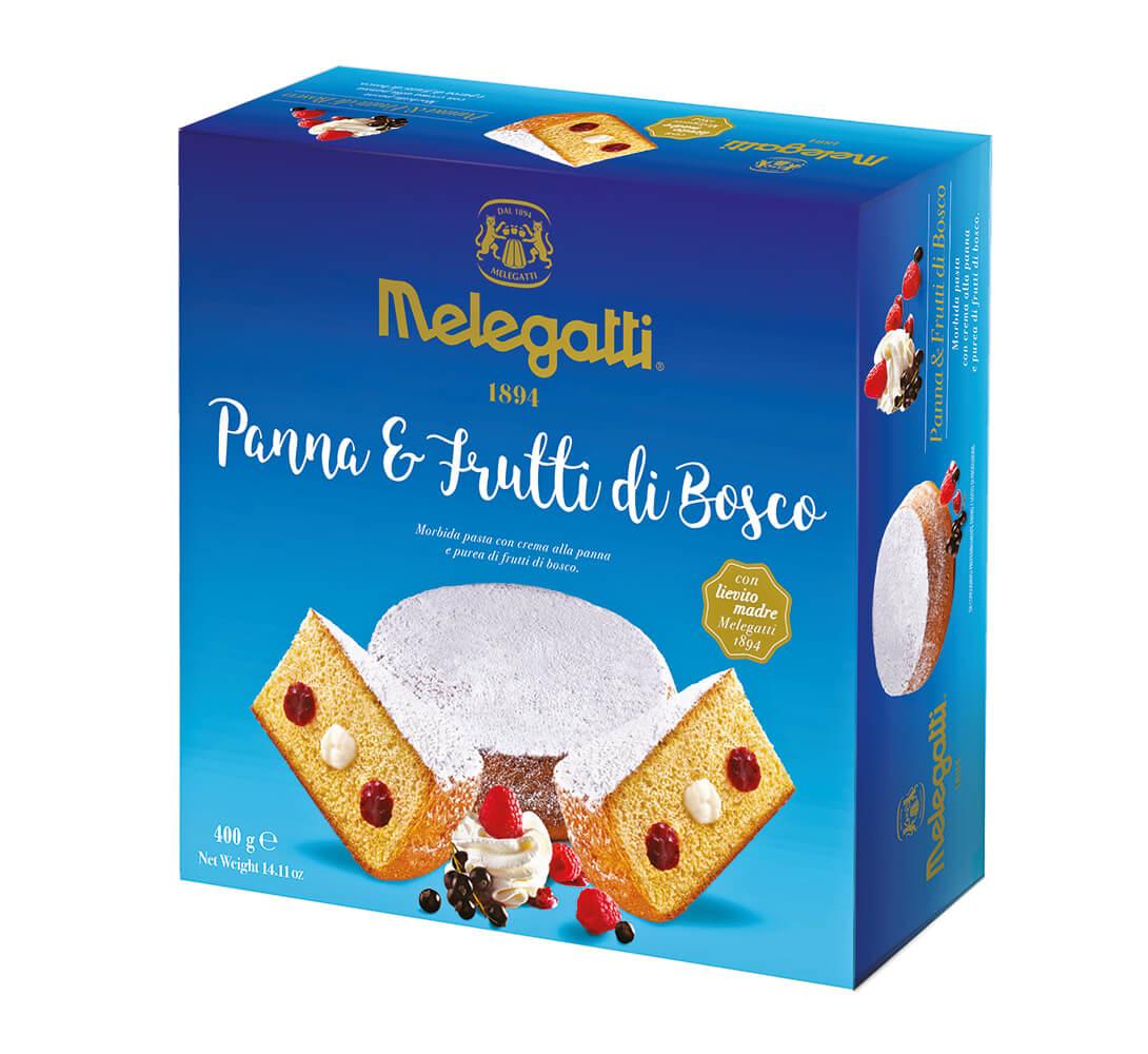 Torta Melegatti Panna Frutti di Bosco PF-PRE014