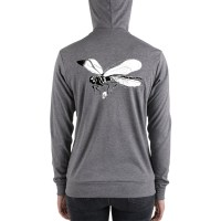 Dragonfly Unisex Zipped Hoodie