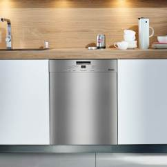 Kitchen Dishwashers Country Cabinets Miele Built Under