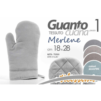 KTX/GUANTO FORNO 18X28CM MERL KTX-11-LAC