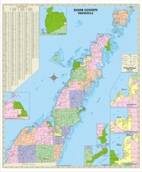 TheMapStore | Wisconsin County Wall Maps