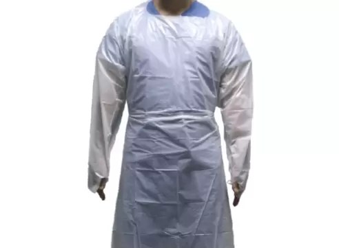 ISOLATION GOWN WHITE