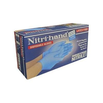 NITRI-HAND NITRILE GLOVE BOX FRONT