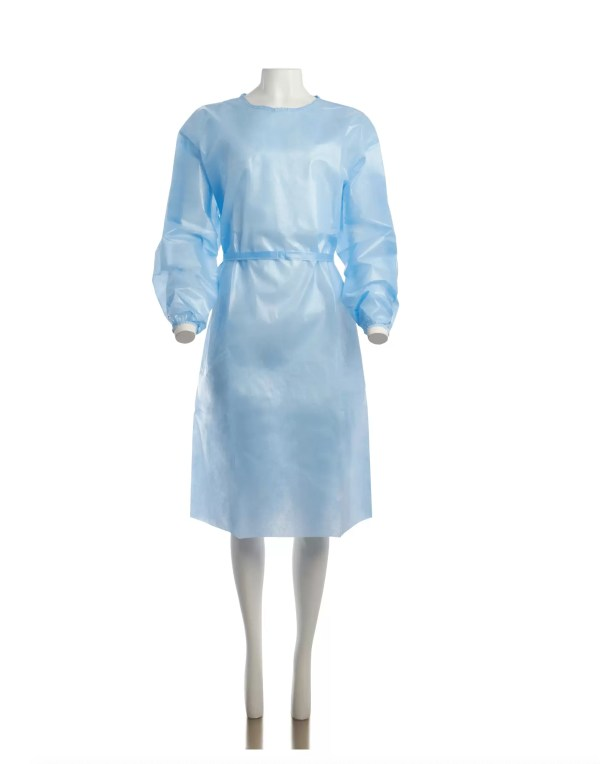 ISOLATION GOWN FRONT