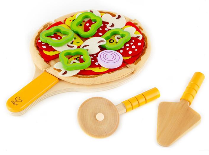 Kit Pizza per bambini  Giochi Cucina in Legno  Hape Hape Giochi cuicna in legno