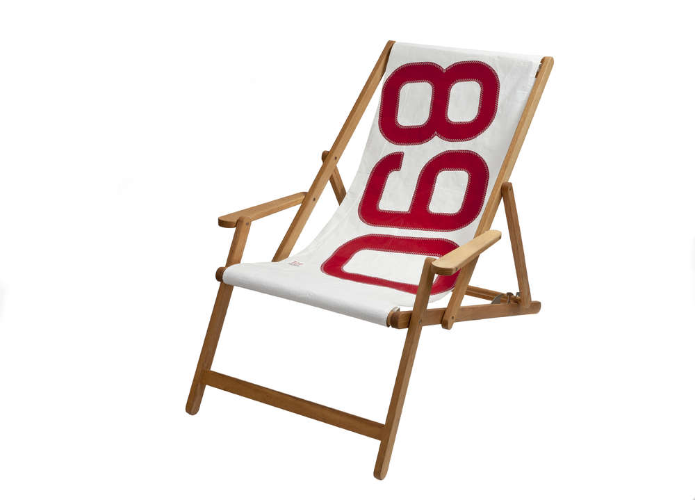 sailcloth beach chairs chiavari chair covers for weddings comfortable deck made of recycled sailcoloth sail cloth