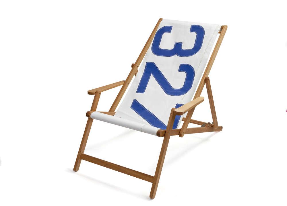 sailcloth beach chairs star trek chair plans comfortable deck made of recycled sailcoloth sail cloth