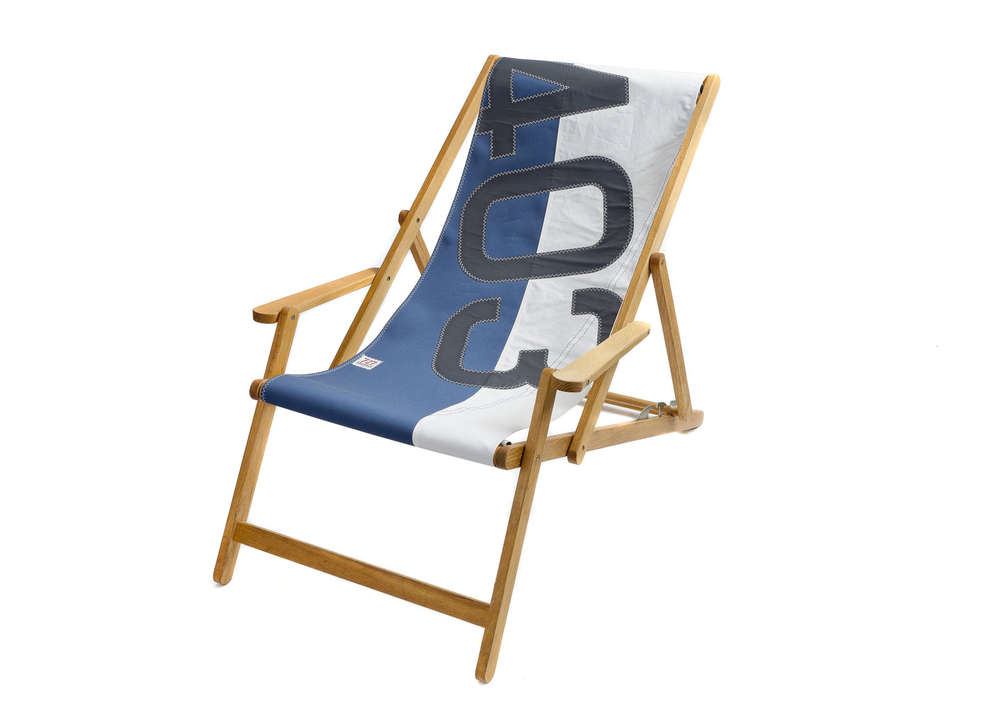 sailcloth beach chairs poppy high chair cover comfortable deck made of recycled sailcoloth