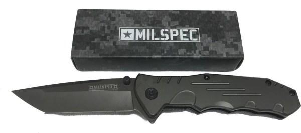 "Mil spec ""Gunners Mate"" Spring Assist Knife-0"