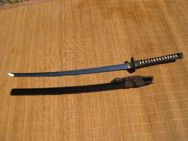 Dojo Pro Katana #13, Round tsuba design-748