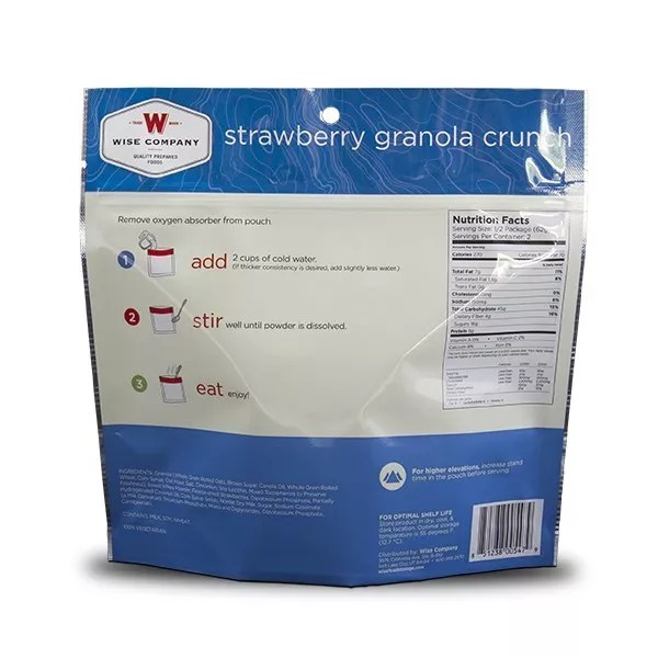 Strawberry Granola Crunch-713