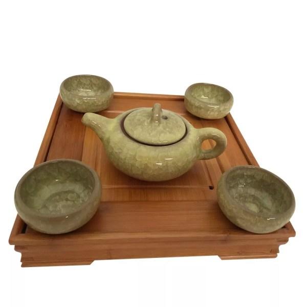 Glazed Tea Set-875