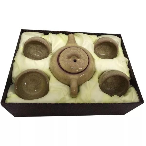 Glazed Tea Set-873