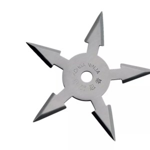 5-point Throwing Star, Stainless-0