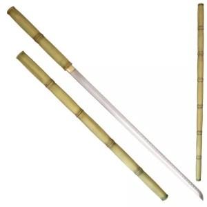 Decorative Bambo Shirasaya Sword-0