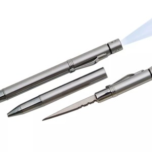 Executive Pen Knife with Blue Light-0