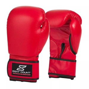 Leather Boxing Gloves-0