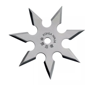 8-point Throwing Star, Stainless-0