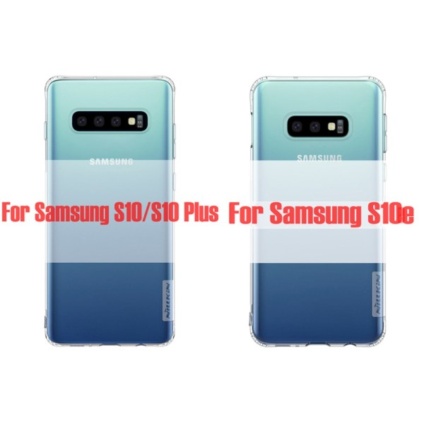 Samsung S10 Plus,S10+ ,S10e NILLKIN TPU Transparent soft back cover case