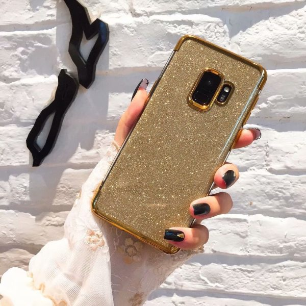 Samsung Galaxy S8 S9 Plus S10 lite S6 S7 Edge A7 A8 A6 2018 A5 J5 J7 2017 Plating Soft TPU Gradient Silicone Case For Cover Case