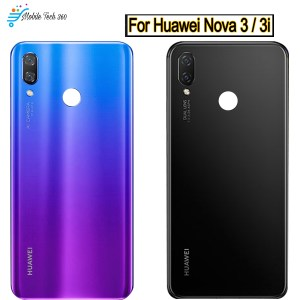 Huawei Nova 3I Battery Cover Back Glass Rear cover Housing