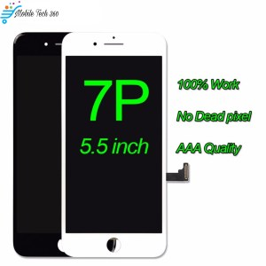 Digitizer Assembly For iPhone 7 Plus LCD Display With 3D Touch Screen Replacement