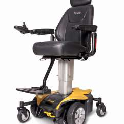 Yellow Wheelchair Desk Chair Upholstered Pride Jazzy Air Full Size Power Mobilityworks Shop Home