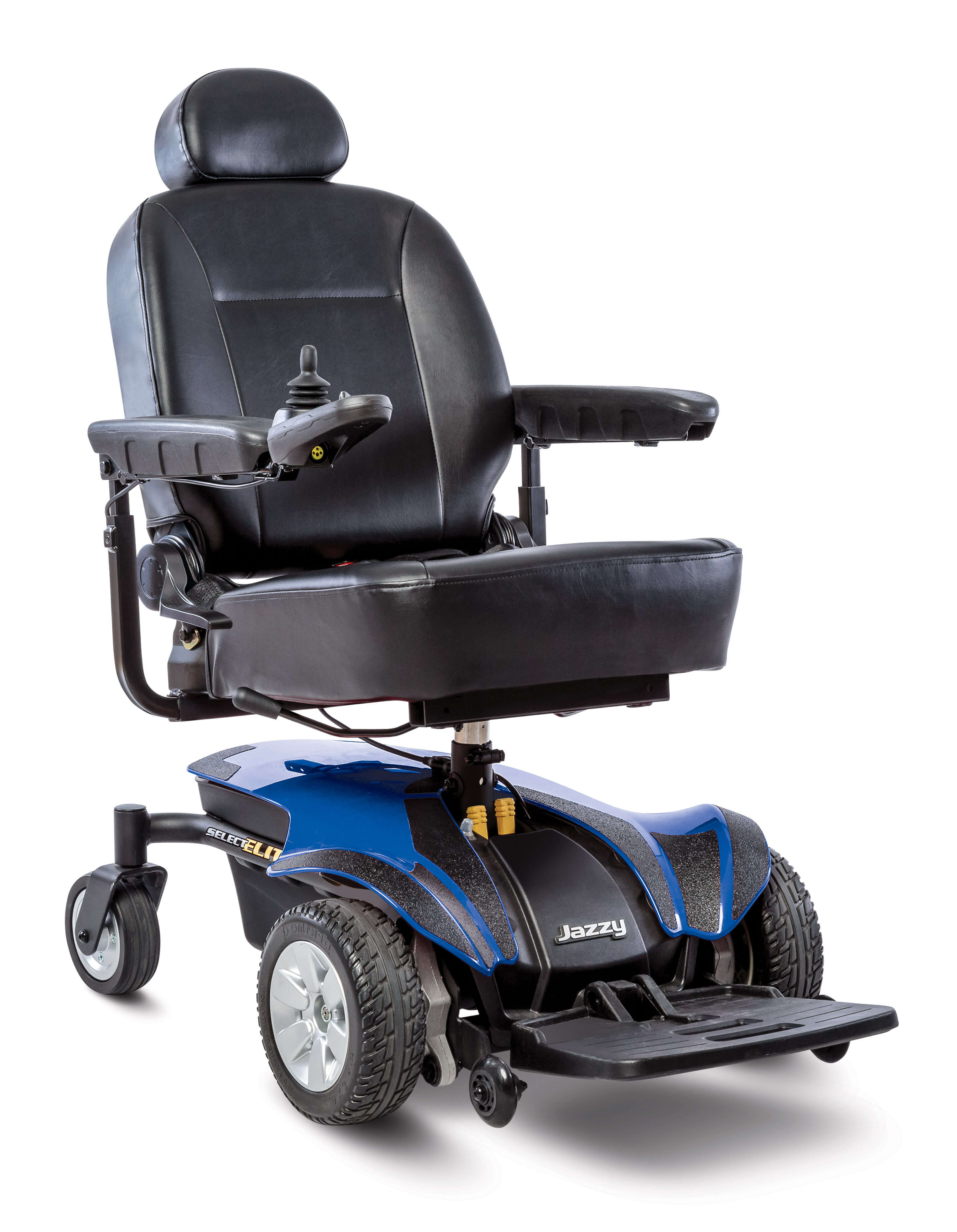 Pride Mobility Chairs Pride Jazzy Select Elite Full Size Power Wheelchair