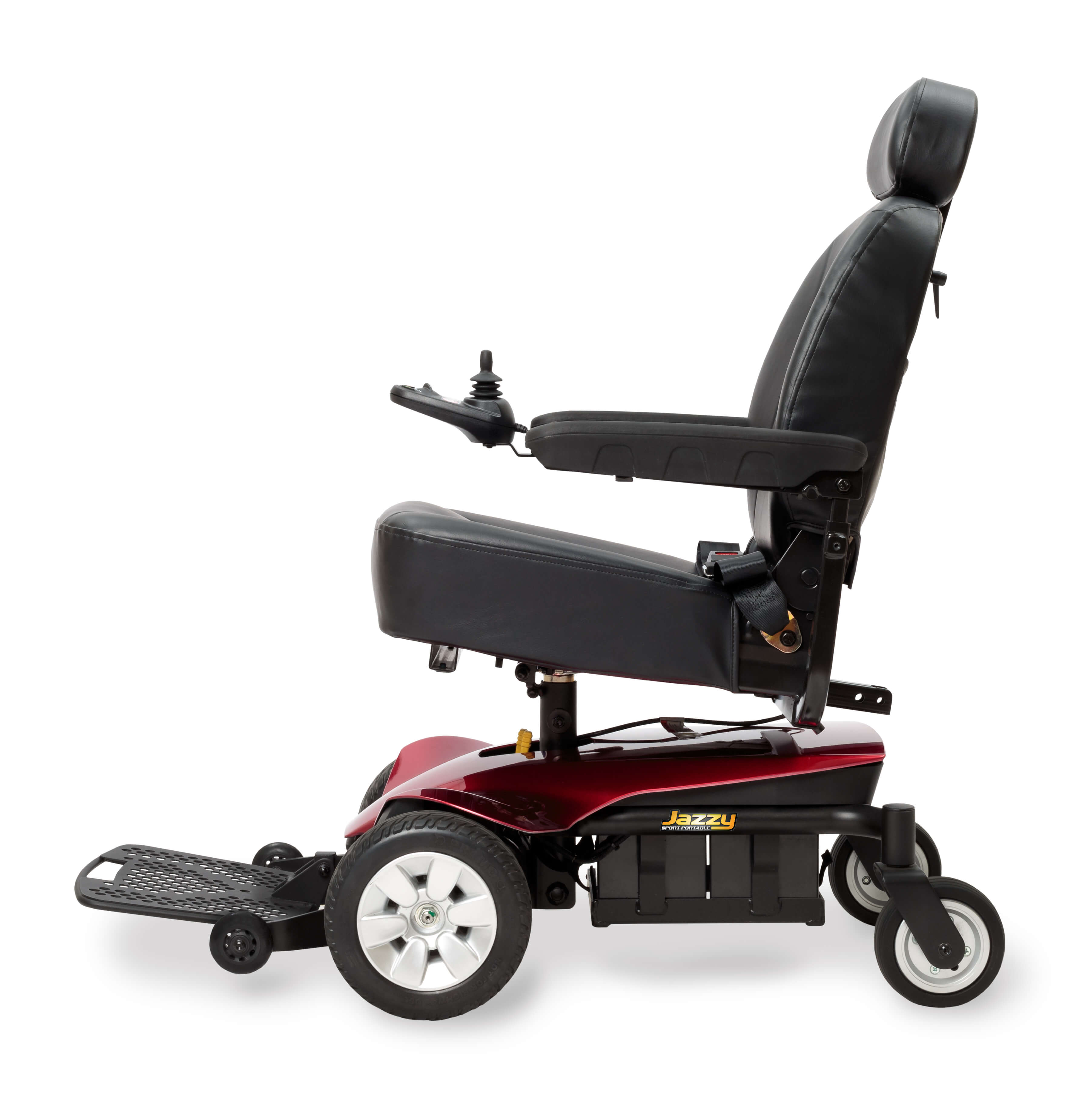 Power Chairs And Scooters Pride Jazzy Sport Portable Full Size Power Wheelchair