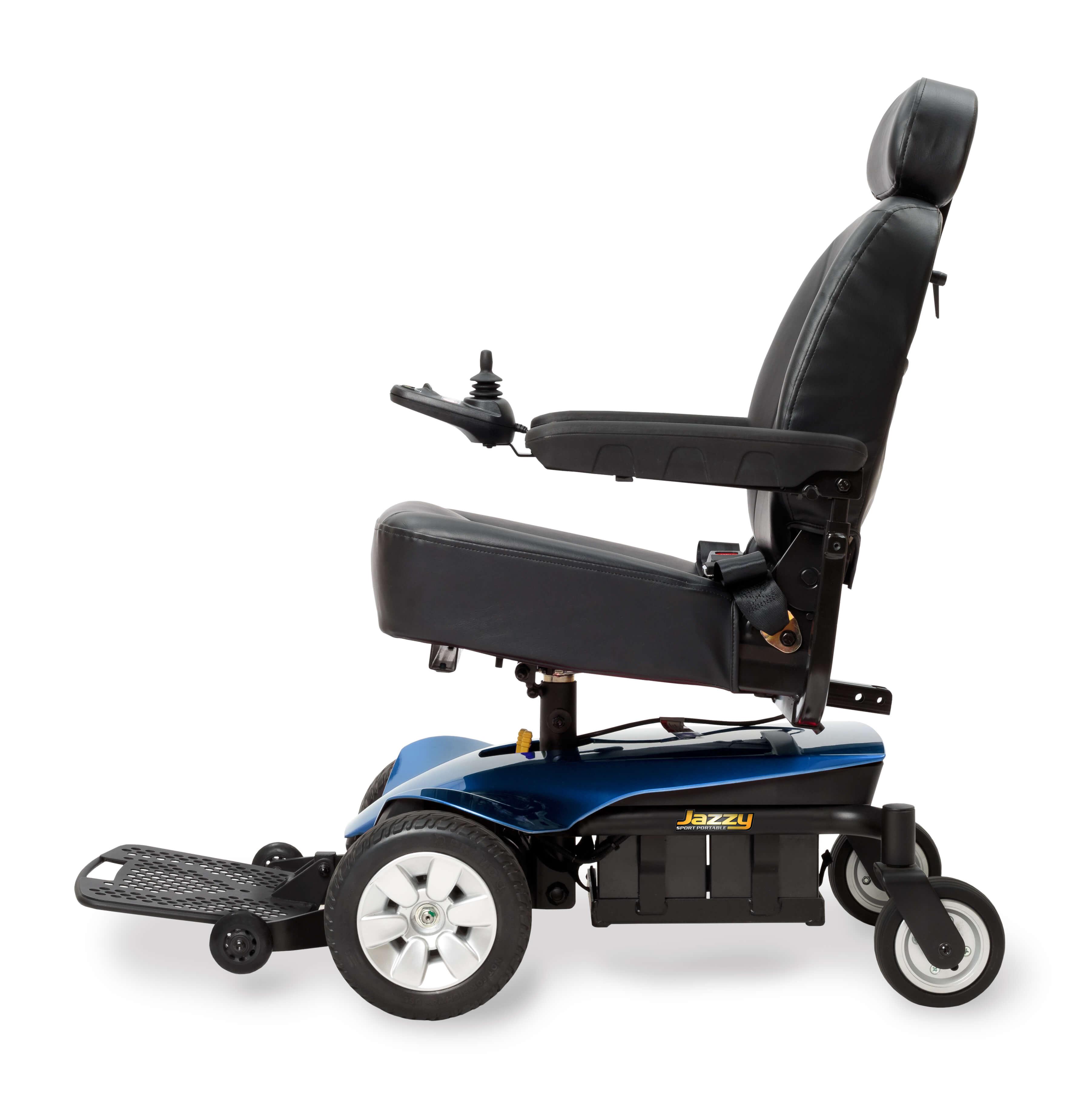 Pride Jazzy Sport Portable Full Size Power Wheelchair