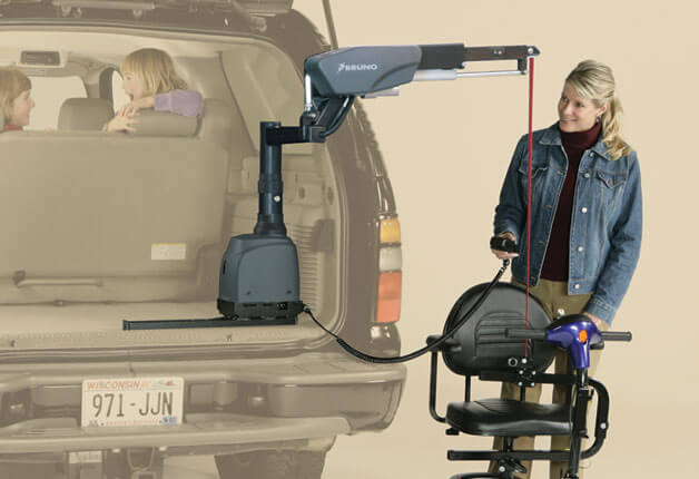 bruno lift chair lazy boy covers nz vsl 6900 curb sider with power telescoping head home