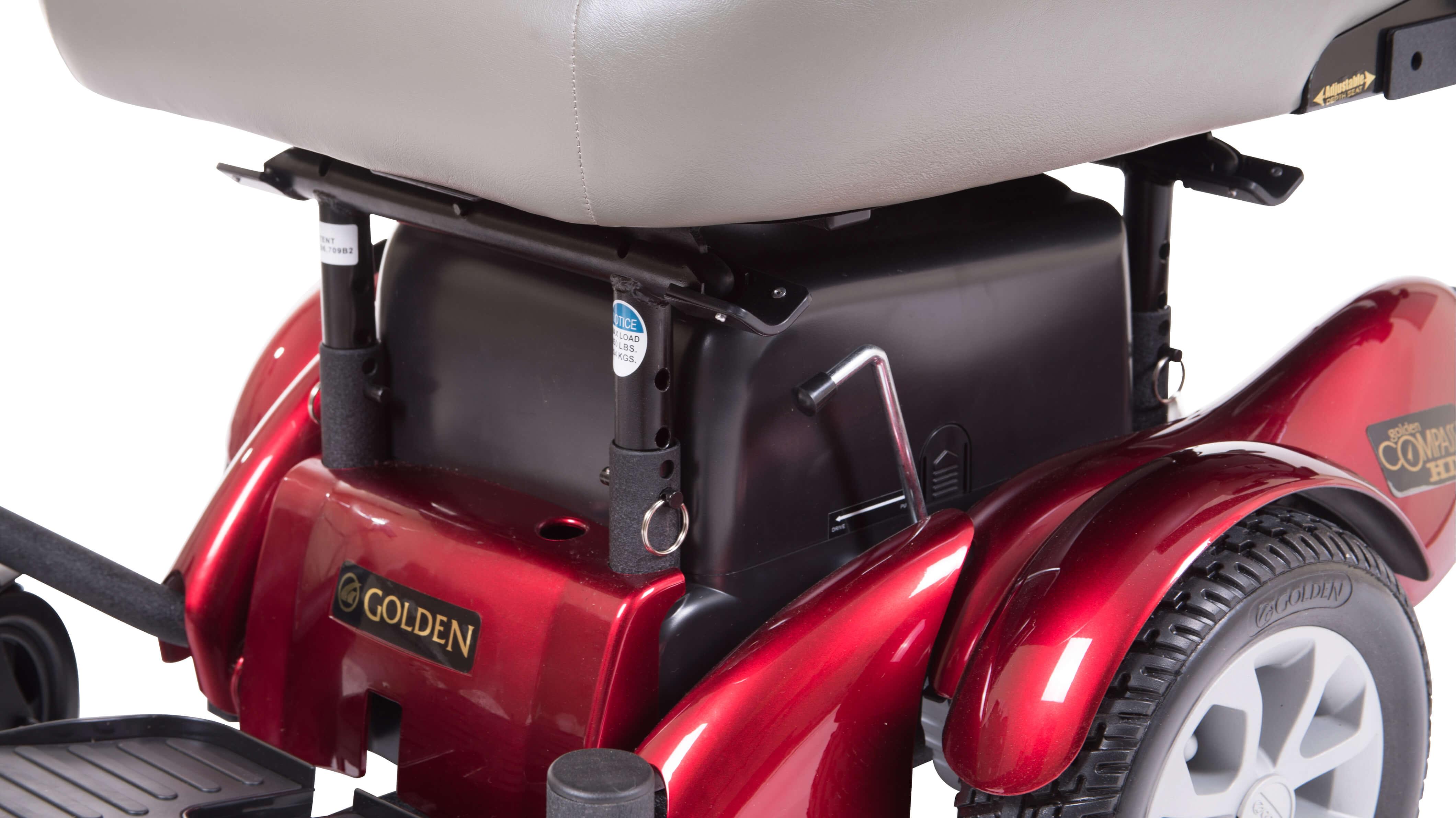 golden power chair repairing cane seat chairs technologies gp620 compass hd heavy duty