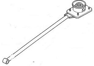 Mercury Capri Manual Transmission (M/T, MT) Shifter