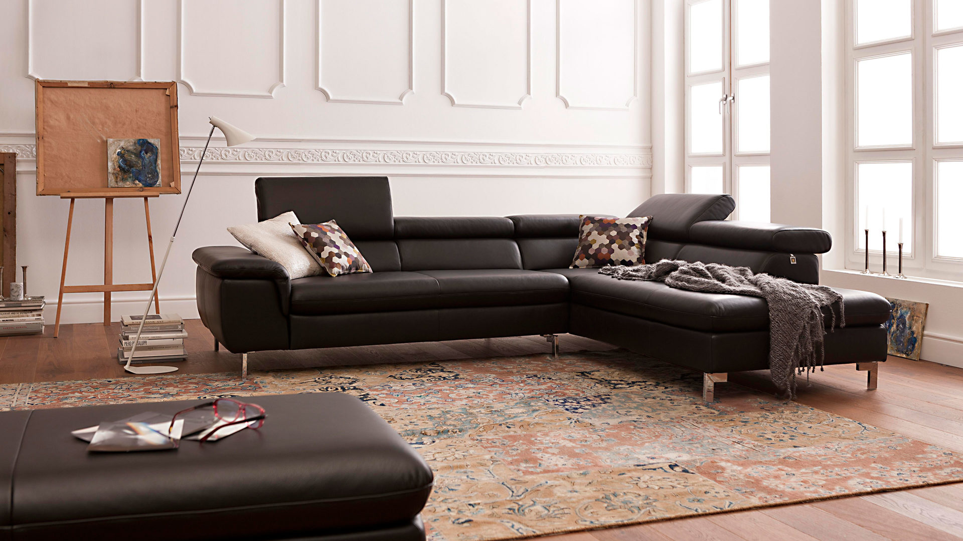 Ledercouch Sale Design Schlafsofa Designer Gunstig Sofa Leder