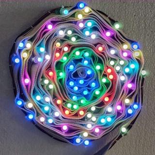 LMNOP 40 Foot 100 LED 14 Color Pixel LED Lights on Belt