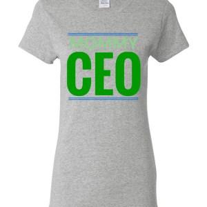 'MOMMY CEO' Heavy Cotton Short Sleeve T-SHirt